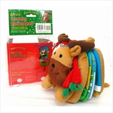 Cuddly Reindeer (Books on the Go!) Christmas gift cloth story book