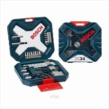 Bosch 34pcs X-Line Classic Drill  & Screwdriver Bit Set Blue - 2607017405)