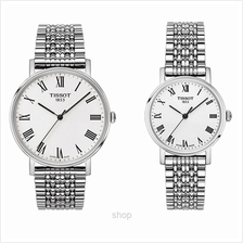 [Bundle Set] Tissot T-Classic Everytime Stainless Steel Couple Watch Set - T10)