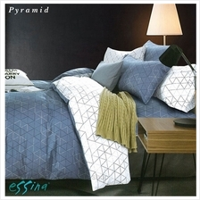 Essina Pyramid 100% Cotton 620TC Fitted Bedsheet Set)
