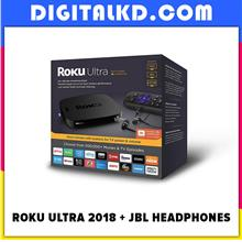 [Flash Sale] Roku Ultra 2018 4K Streaming Player with JBL Headphones