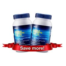 [Bundle] GNC Double Strength Fish Oil Lemon (90 Caps) x2)