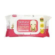 K-Mom Natural Pureness Premium Baby Wet Wipes 80pcs)