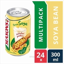 [24 packs] Seasons Soya Bean 300ml Cans)