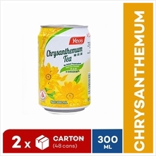 [Bundle] YEO'S 300ml Chrysanthemum Tea ASD CD Drink (24 cans x 2 Cartons))