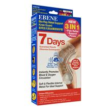 EBENE BioRay Metal Support Knee Guard L 2s