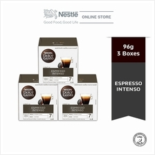NESCAFE Dolce Gusto Espresso Intenso Coffee Bundle of 3 Boxes)