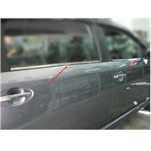 Perodua Axia Window Trim Panel Stainless Steel