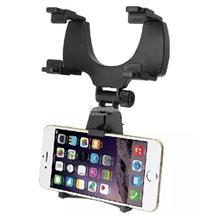 Universal Car Rear View Mirror Mount Phone Holder for Samsung iPhone