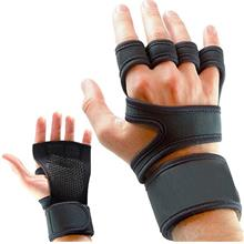 1 Pair Fitness Gloves Weight Lifting Gym Workout Sport Exercise