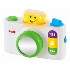 Fisher-Price: Laugh  & Learn\u00ae Click N' Learn Camera - White (From 6 -)