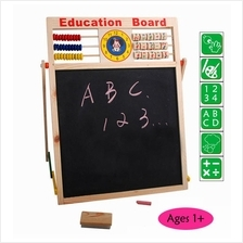 Wooden Toy Toys Learning Board Children Kids Baby Educational Clock