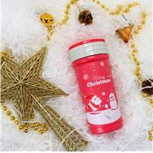 [Christmas Collection] A Snowy Blowy Christmas: SWANZ 350ml Porcelain Tumbler )
