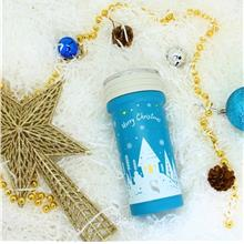 [Christmas Collection] Once upon a Starry Night: SWANZ 350ml Porcelain Tumbler)