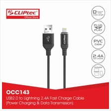 CLiPtec I-CONNECT USB 2.0 8 Pin Lightning Cable OCC143