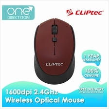 CLiPtec 1600dpi 2.4GHz Wireless Optical Mouse M157)