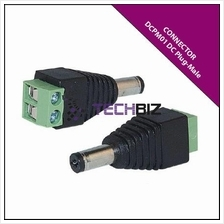 DCPM01 DC Plug-Male (Screw on type)