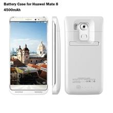 4500MAH BACKUP BATTERY EXTERNAL POWER BANK CHARGER CASE FOR HUAWEI MATE 8 (WHI