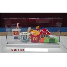PROMOTION!!! 6 In 1 of Mcd Combo Set