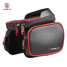 WHEELUP WH009 Cycling Bike Bag Tube Top Front Frame Pannier Double Pou