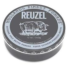 Reuzel Extreme Hold Matte Pomade Big Tub 12oz