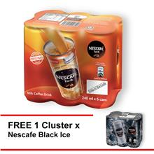 NESCAFE Tarik RTD 240ml ,Buy 1 Clusters Free 1 Black Ice 240ml clusters)