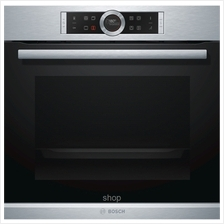 Bosch Series 8 Stainless Steel Oven - HBG655HS1)