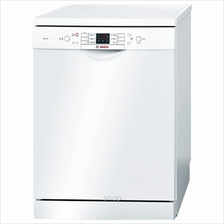 Bosch Series 6 Silence 60cm White Dishwasher - SMS63L02EA)