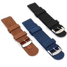 (3 Straps) 16mm 18mm 20mm 22mm 24mm Nato Watch Strap Band