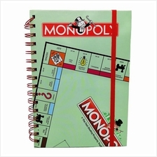 MONOPOLY HARD COVER NOTE BOOK
