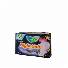 LAURIER Laurier Soft Care Quick Lock Night Safe Wing 32s
