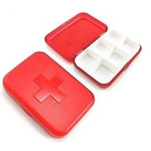 Pill Organizer Tablet Box (6 Compartments)