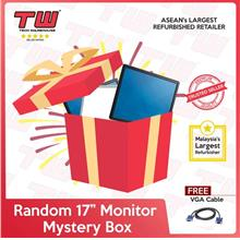 Random Brand 17\u201d Monitor Mystery Box (Factory Refurbished)