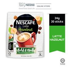 NESCAFE Latte Hazelnut 20 Sticks 24g)