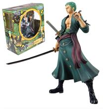 One Piece Anime Roronoa Zoro Action Figure painted figure 2 year later