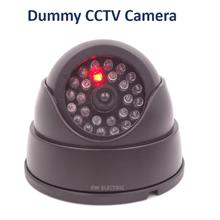 Fake Dummy Security Surveillance Dome CCTV Camera with Led Light
