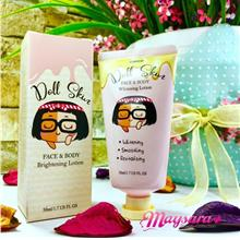 CUBREMI Doll Skin ~ Face & Body Brightening Lotion (50ml)