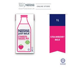 Nestle Just Milk Strawberry 1L