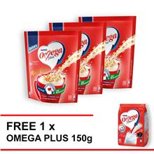 OMEGA Oats 10 stick buy 3 free 1 Omega 150g