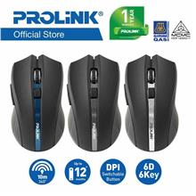 PROLiNK PMW6005 Wireless 1600dpi Optical Mouse / 6-Buttons