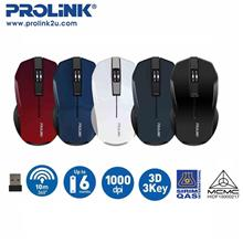 PROLiNK PMW6001 Wireless Optical Mouse with On/Off Switch FREE battery