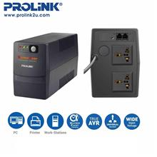 PROLiNK PRO851SFC 850VA UPS with AVR / Super-Fast Charging