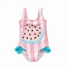 Baby Swimwear Korean Girls Swimsuit One Piece Children's Summer Pastel