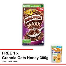NESTLE KOKO KRUNCH Pillows Free 1 Granola Oats Honey 300g (Exp.MAY 19))