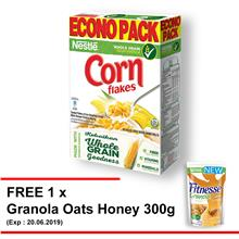 NESTLE CornFlakes Cereal 500g Free 1 Granola Oats Honey 300g(ExpMAY19))