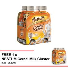 NESTUM Cereal With Milk 4 Bottles 225ml Buy 1 Free 1
