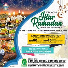[Raya Promo] Afamosa Ramadan Buffet Dinner - Child/ Senior Citizen
