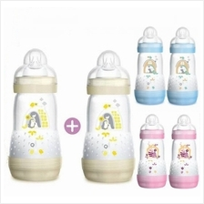 MAM Anti-Colic Bottle 260ml With Medium Flow Teat (Size 2)