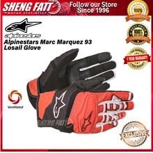 Alpinestars Marc Marquez 93 Losail Glove Black Red LIMITED EDITION