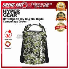 HYPERGEAR Dry Bag 20L Camouflage Series 1 Year Warranty (Ready Stock ‎)